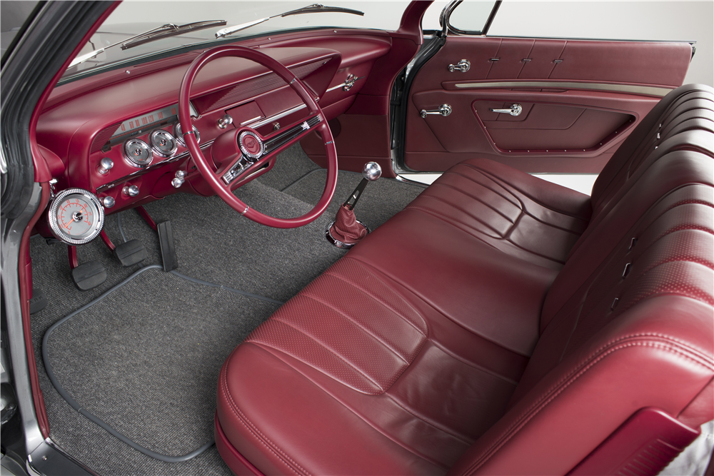 1962 CHEVROLET BEL AIR CUSTOM BUBBLE TOP - Interior - 190199