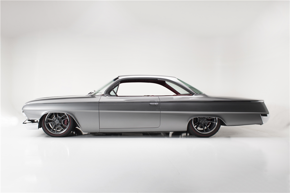1962 CHEVROLET BEL AIR CUSTOM BUBBLE TOP - Side Profile - 190199