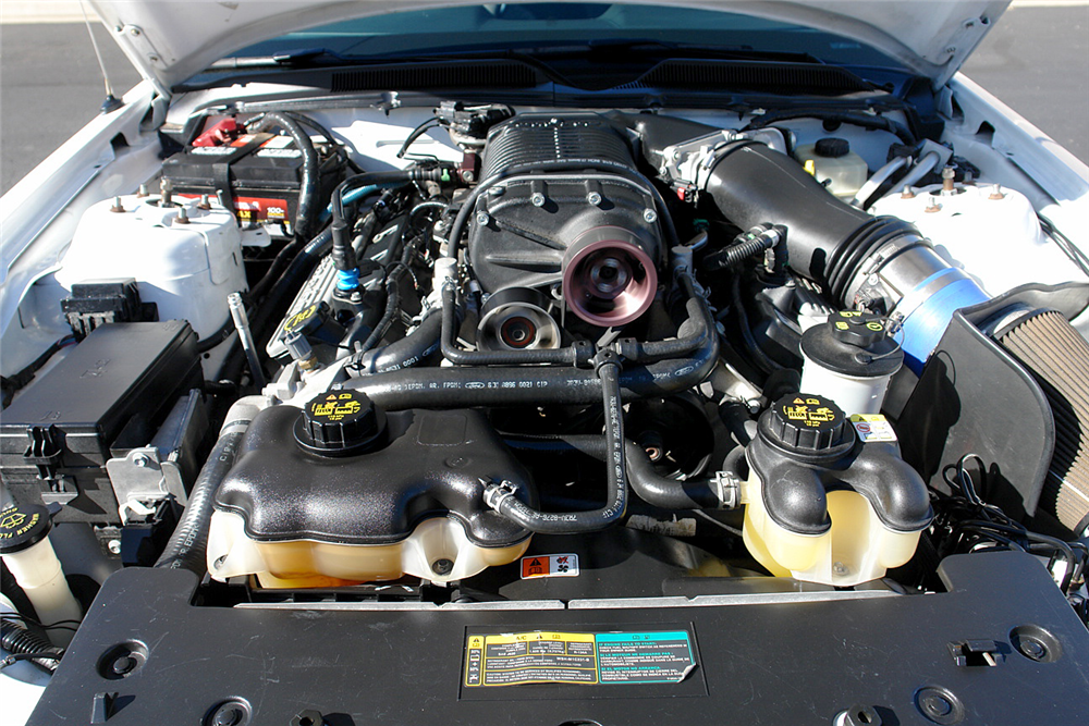 2007 SHELBY GT500 CUSTOM COUPE - Engine - 190210