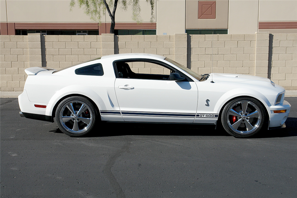 2007 SHELBY GT500 CUSTOM COUPE - Side Profile - 190210