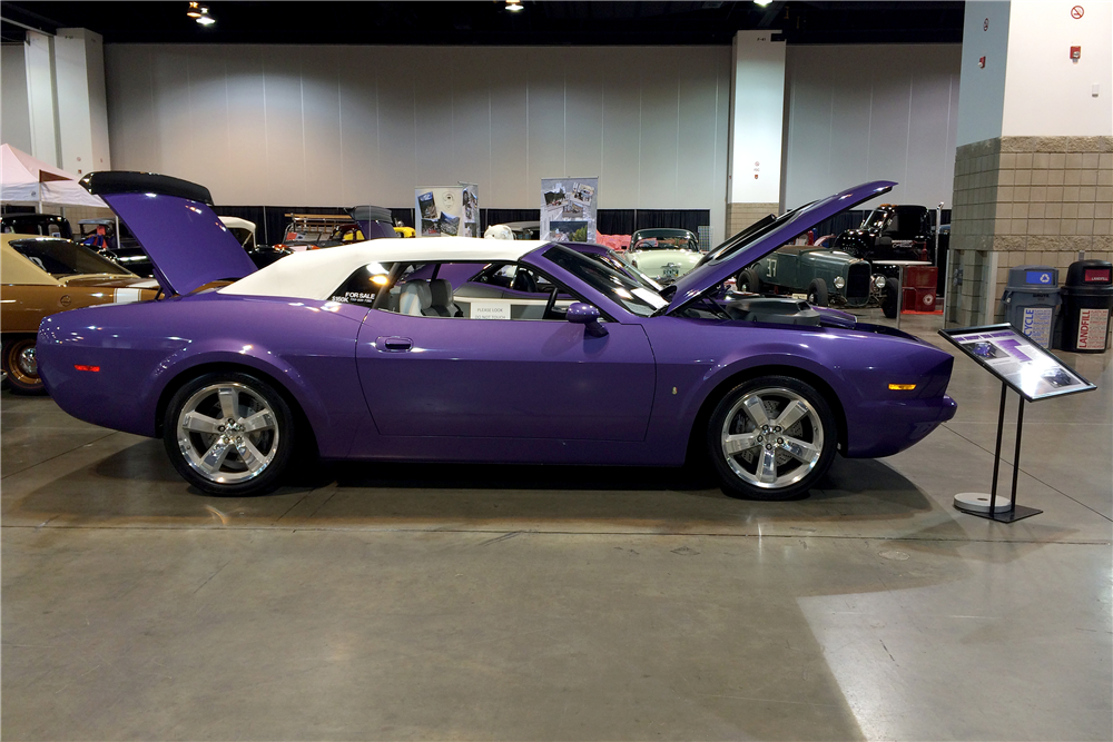 2007 PLYMOUTH 'CUDA CUSTOM CONCEPT CONVERTIBLE - Side Profile - 190223