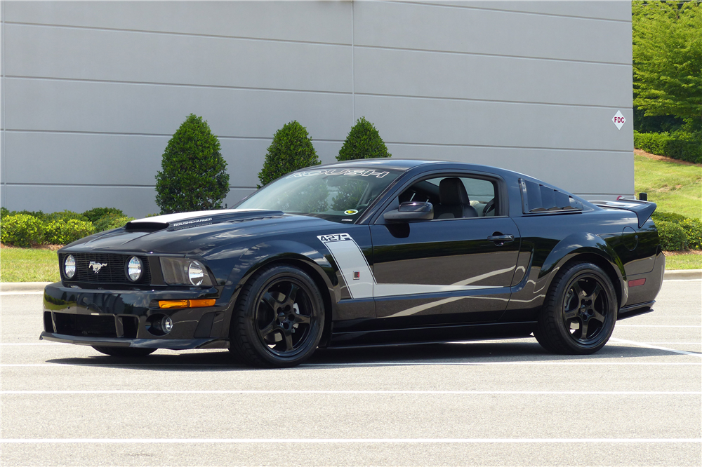 2009 FORD MUSTANG ROUSH CUSTOM COUPE - Front 3/4 - 190226