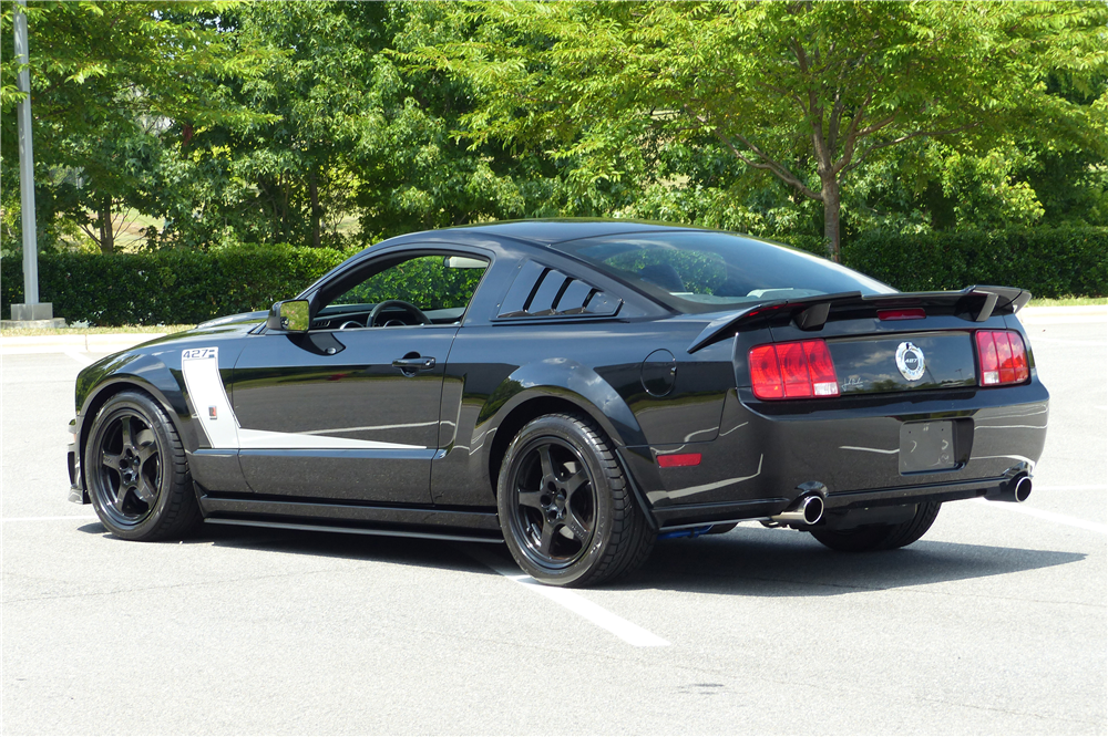 2009 FORD MUSTANG ROUSH CUSTOM COUPE - Rear 3/4 - 190226