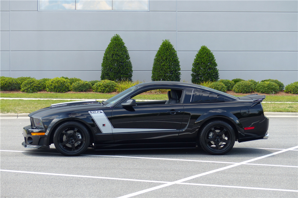 2009 FORD MUSTANG ROUSH CUSTOM COUPE - Side Profile - 190226