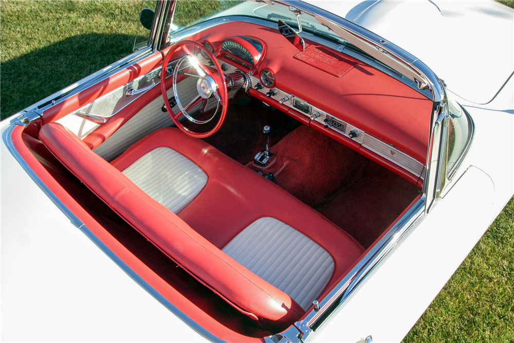 1956 FORD THUNDERBIRD CONVERTIBLE - Interior - 190233