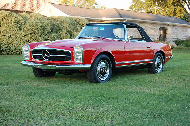 1965 mercedes benz 230sl 190250 for Mercedes benz 230sl