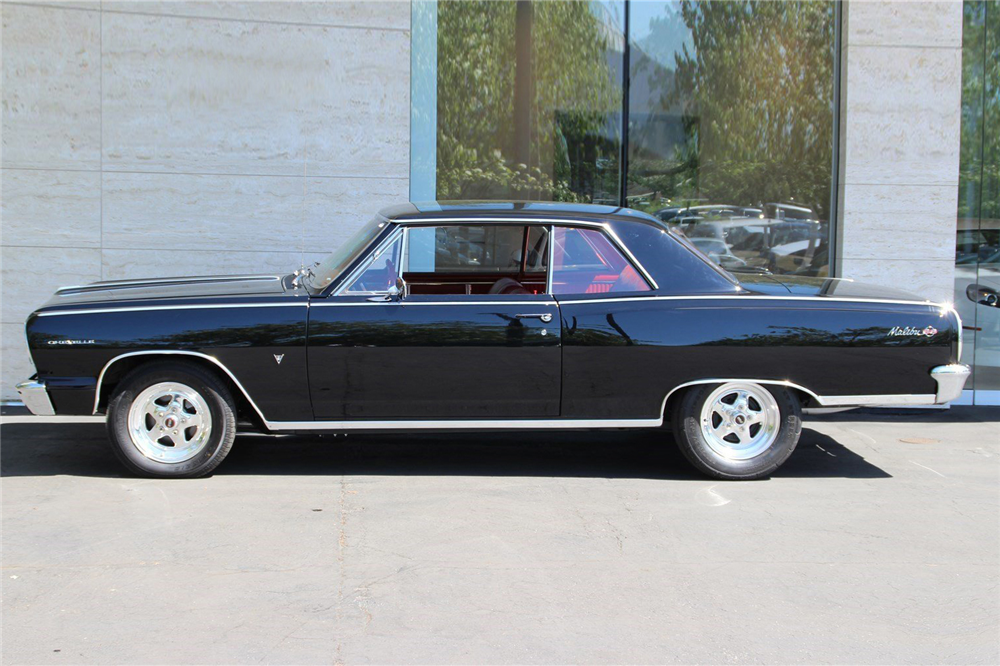 1964 CHEVROLET CHEVELLE MALIBU SS CUSTOM HARDTOP - Side Profile - 190255