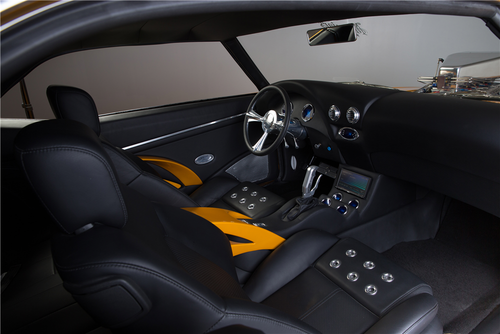 1969 CHEVROLET CAMARO RS/SS CUSTOM COUPE - Interior - 190265
