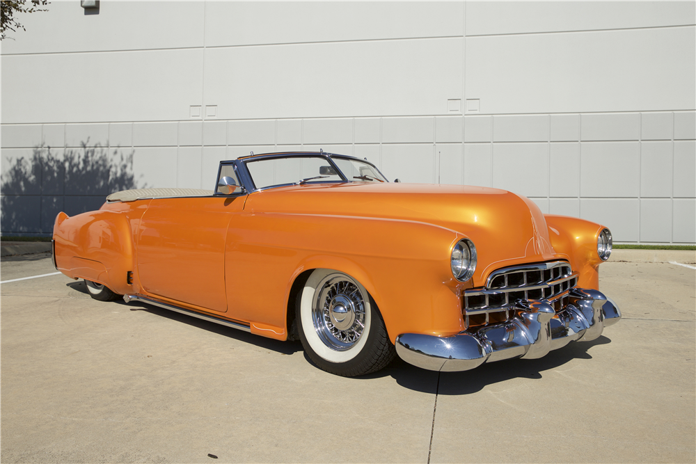 1948 CADILLAC SERIES 62 CUSTOM CONVERTIBLE - Front 3/4 - 190266