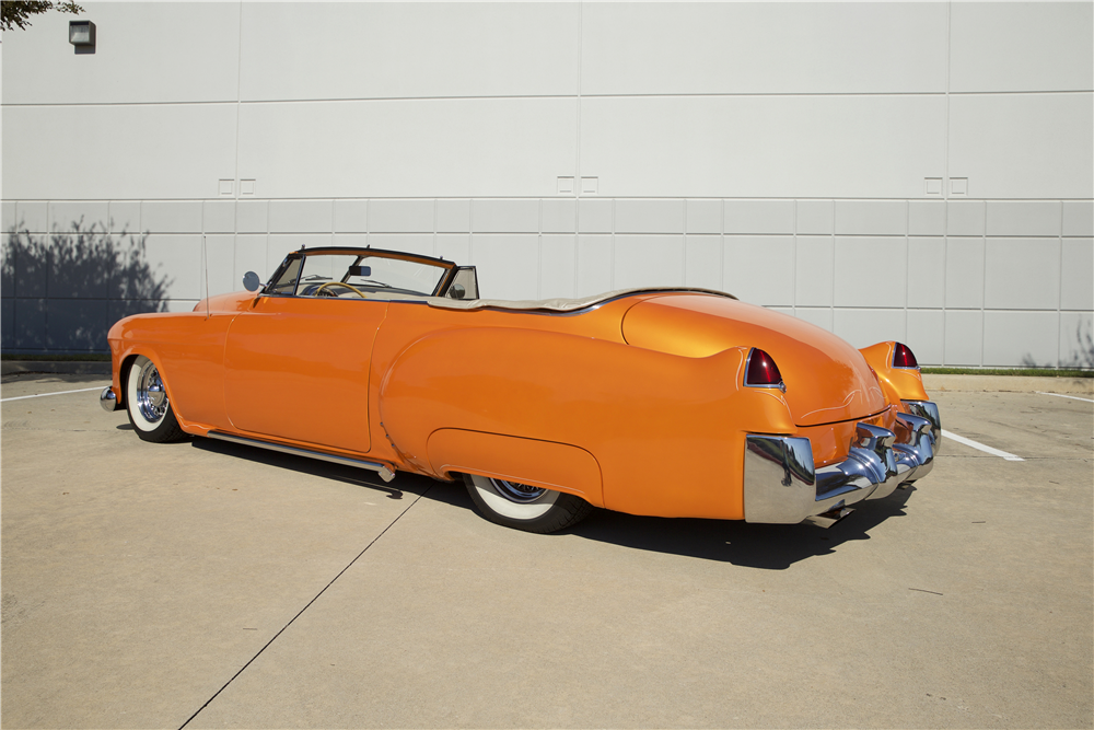 1948 CADILLAC SERIES 62 CUSTOM CONVERTIBLE - Rear 3/4 - 190266