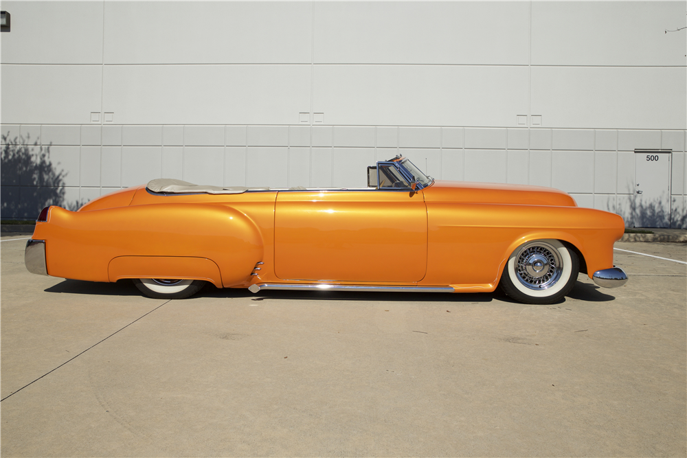 1948 CADILLAC SERIES 62 CUSTOM CONVERTIBLE - Side Profile - 190266