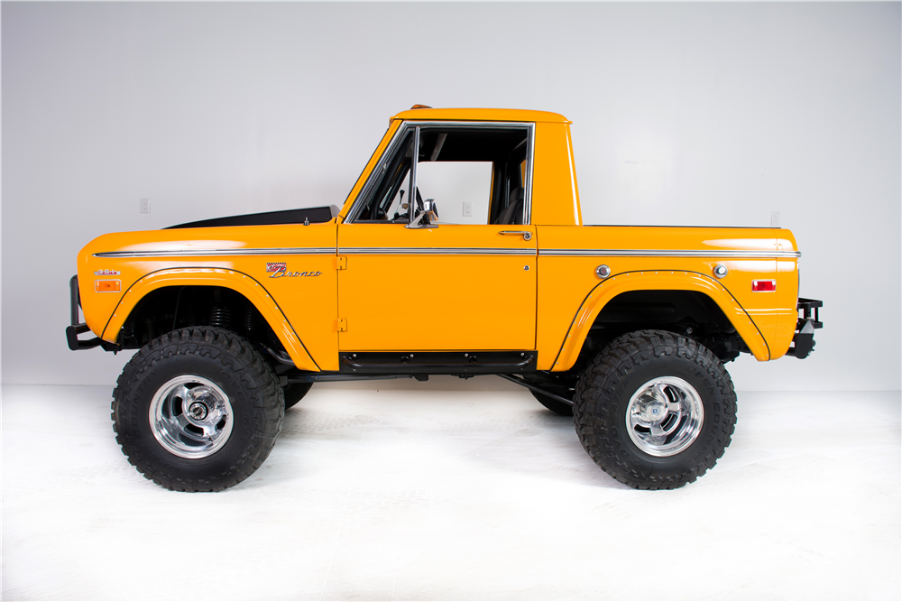 Ford Bronco 2016 Price >> 1975 FORD BRONCO CUSTOM 4X4 SUV - 190272