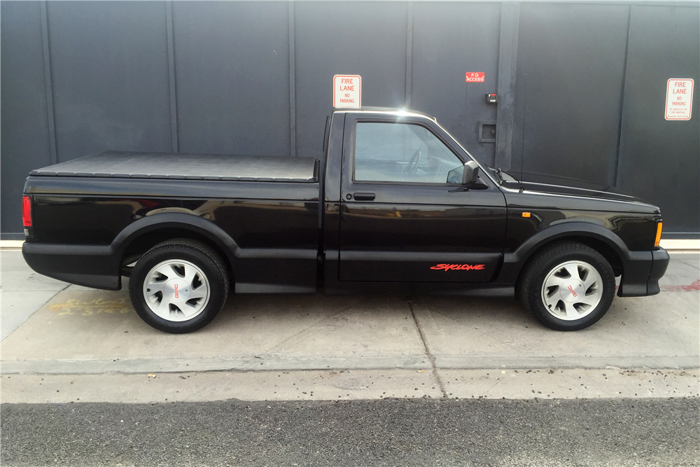 1991 GMC SYCLONE PICKUP - Side Profile - 190330