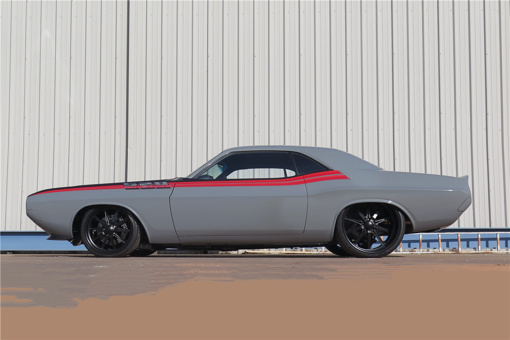 1970 DODGE CHALLENGER CUSTOM HARDTOP - Side Profile - 190359