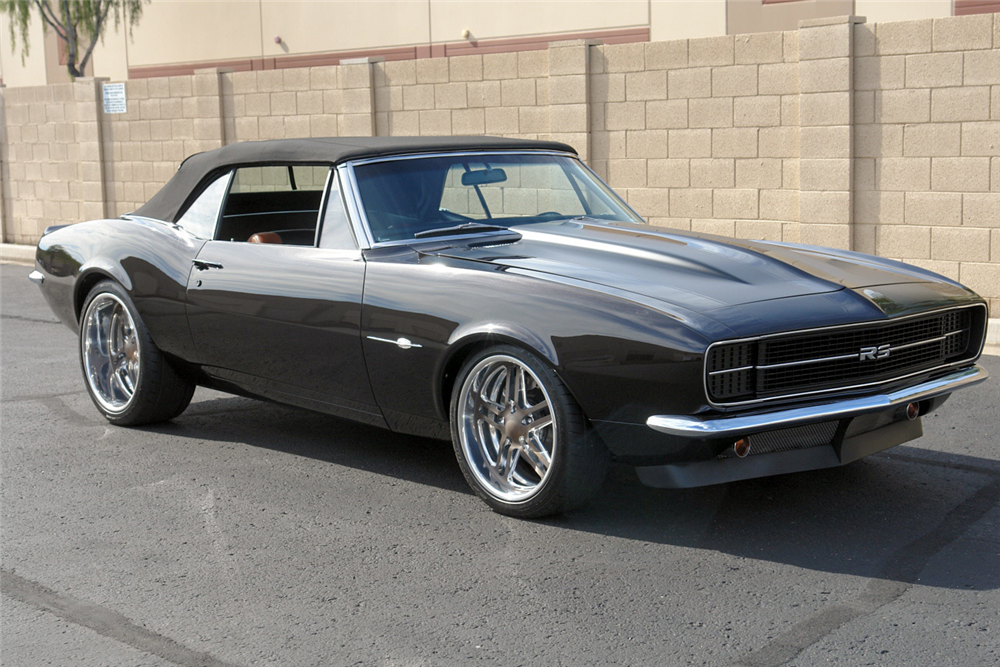 1967 CHEVROLET CAMARO CUSTOM CONVERTIBLE - 190372