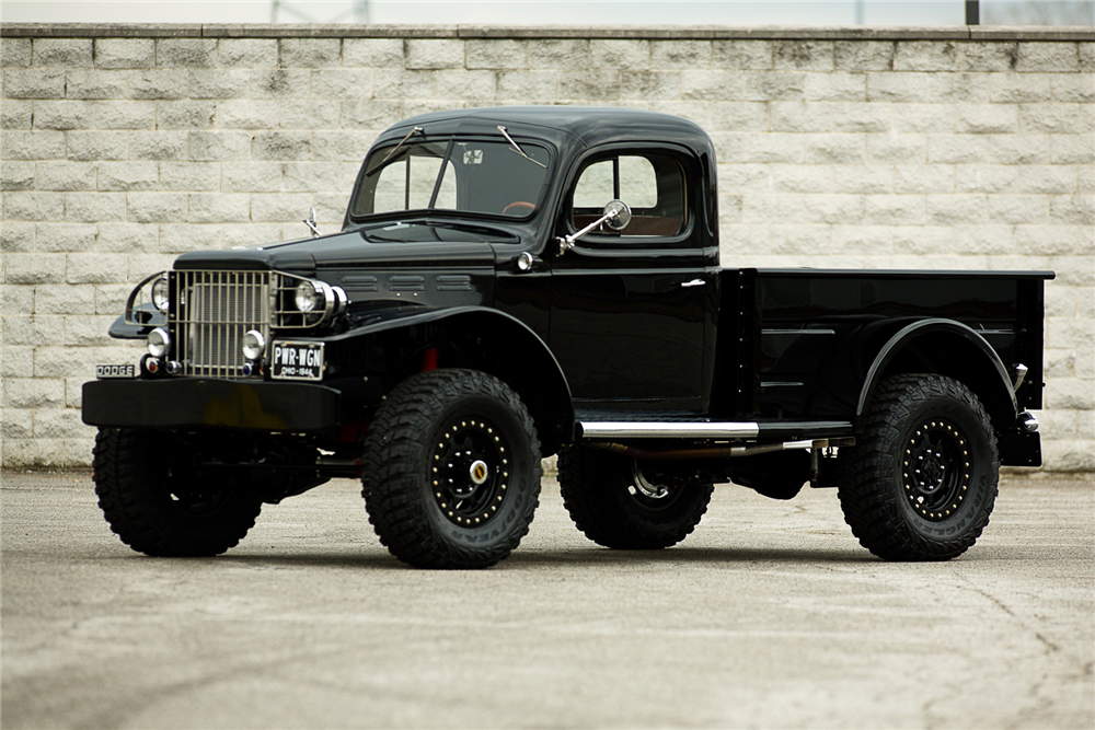 1944 DODGE POWER WAGON CUSTOM PICKUP - Front 3/4 - 190374