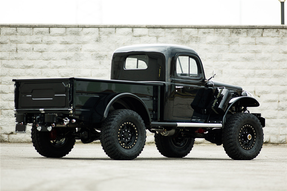 1944 DODGE POWER WAGON CUSTOM PICKUP - Rear 3/4 - 190374