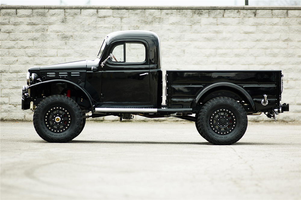 1944 DODGE POWER WAGON CUSTOM PICKUP - Side Profile - 190374