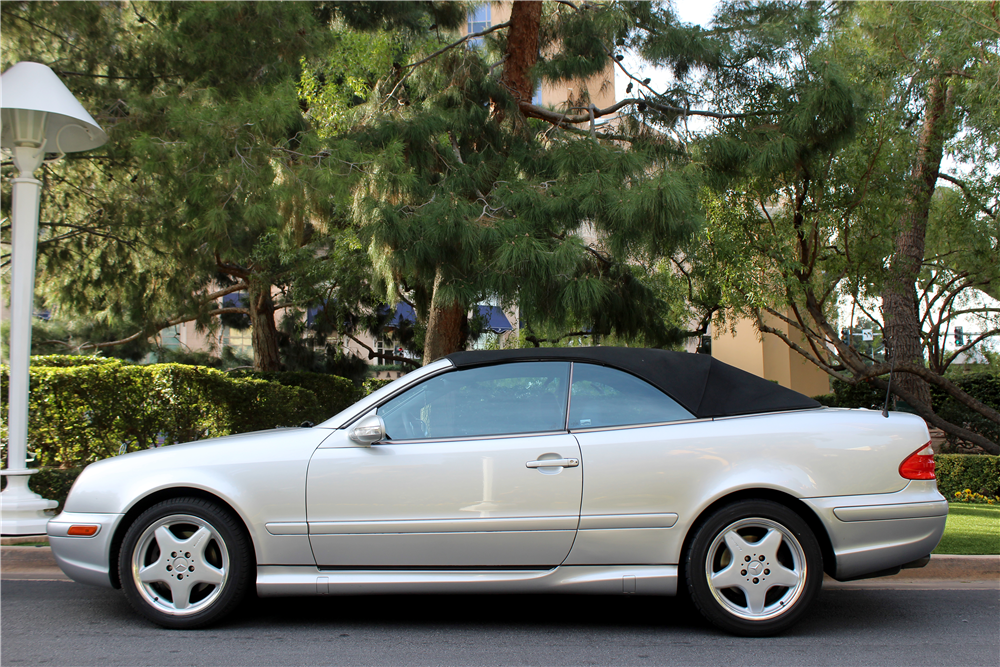 2000 mercedes benz clk430 convertible 190380. Black Bedroom Furniture Sets. Home Design Ideas