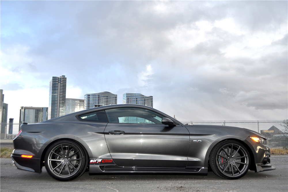 ... 2016 FORD MUSTANG GT CUSTOM COUPE - Side Profile 190381