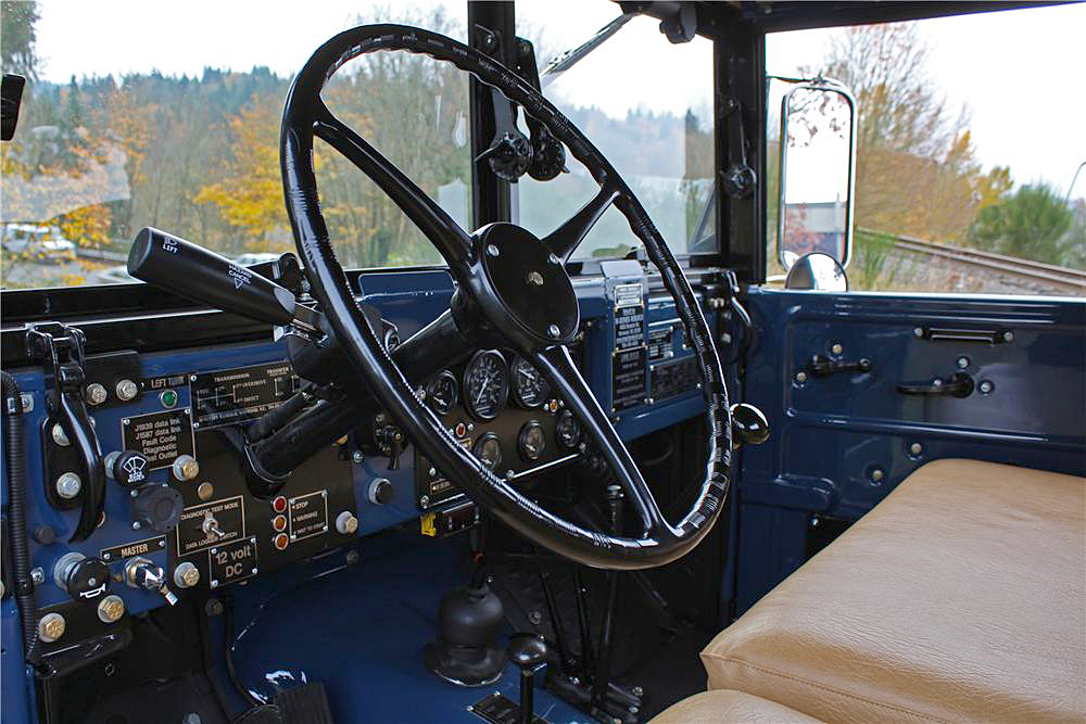 1962 DODGE POWER WAGON M37B1 PICKUP - Interior - 190388