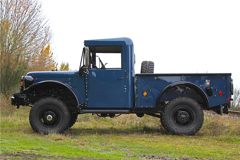 1962 DODGE POWER WAGON M37B1 PICKUP - Side Profile - 190388