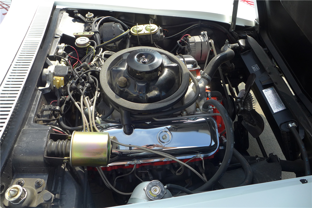 1969 CHEVROLET CORVETTE CONVERTIBLE - Engine - 190397