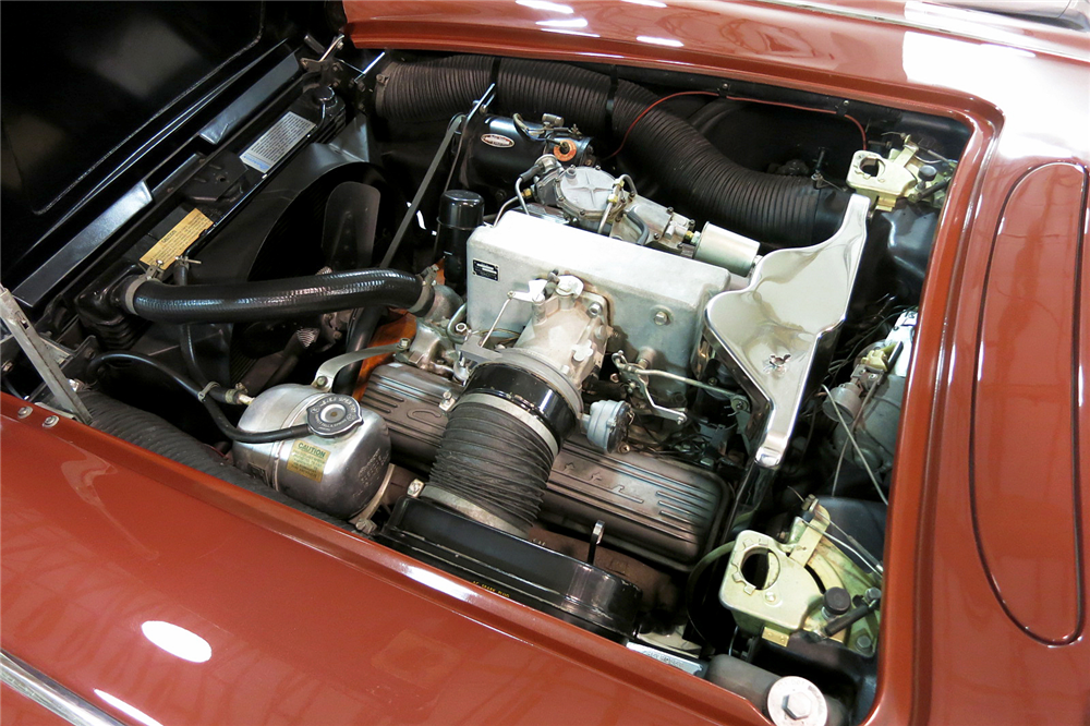 1962 CHEVROLET CORVETTE CONVERTIBLE - Engine - 190405