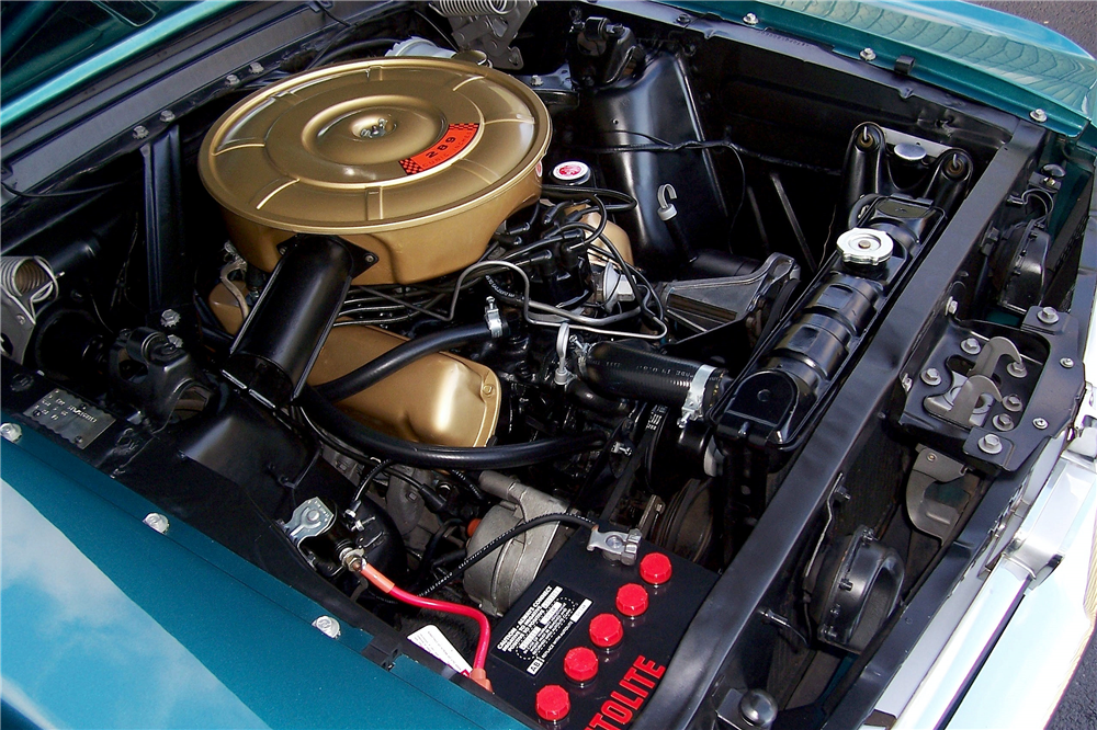 1965 FORD MUSTANG RETRACTABLE HARDTOP - Engine - 190406