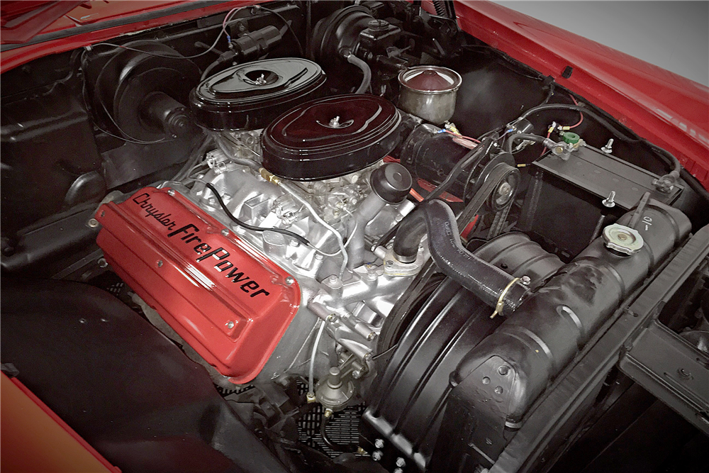 1955 CHRYSLER 300 - Engine - 190408