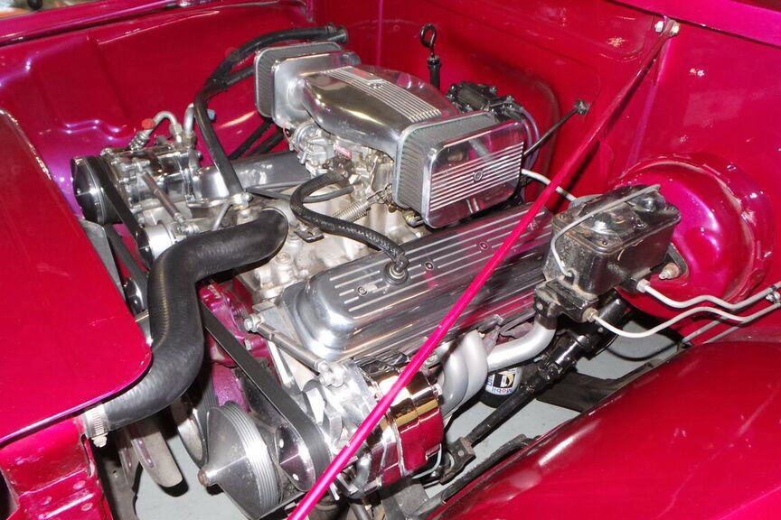 1954 FORD F-100 CUSTOM PICKUP - Engine - 190415