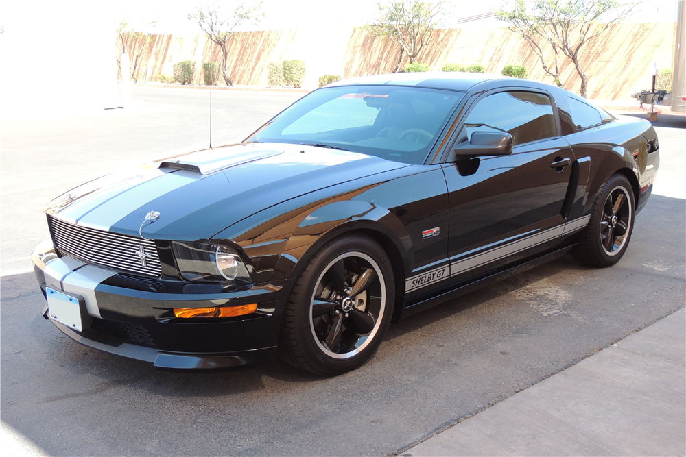 mustang shelby 2007 gt350 ford fastback front