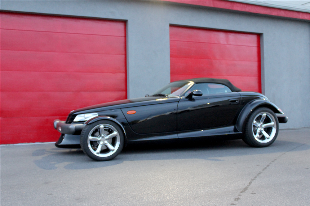 1999 PLYMOUTH PROWLER CONVERTIBLE - Front 3/4 - 190431