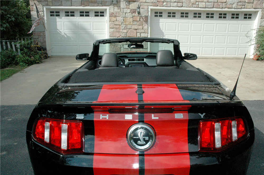 2010 FORD SHELBY GT500 CONVERTIBLE - Misc 1 - 190439