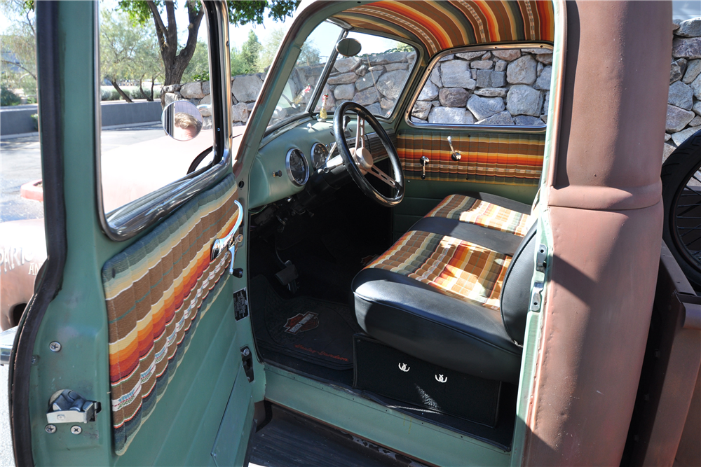 1950 CHEVROLET 3100 PICKUP - Interior - 190440