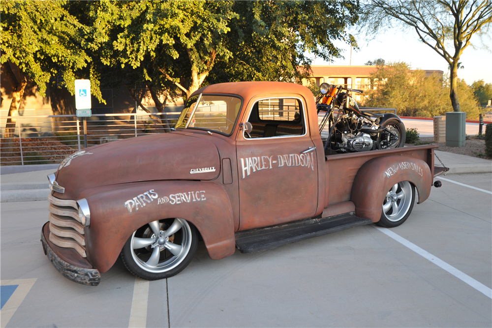 1950 CHEVROLET 3100 PICKUP - Side Profile - 190440