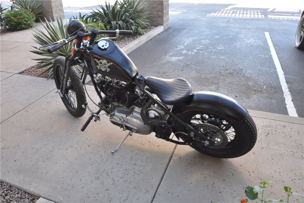 1979 CUSTOM RIGID MOTORCYCLE - Side Profile - 190442