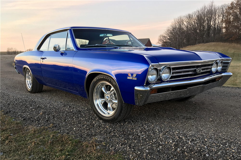 1967 CHEVROLET CHEVELLE SS 396 - Front 3/4 - 190443