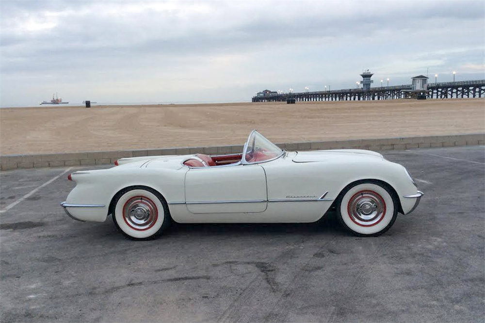 1954 CHEVROLET CORVETTE CONVERTIBLE - Side Profile - 190451