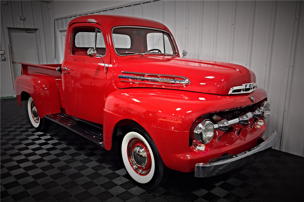 1951 FORD F-1 PICKUP - Front 3/4 - 190460