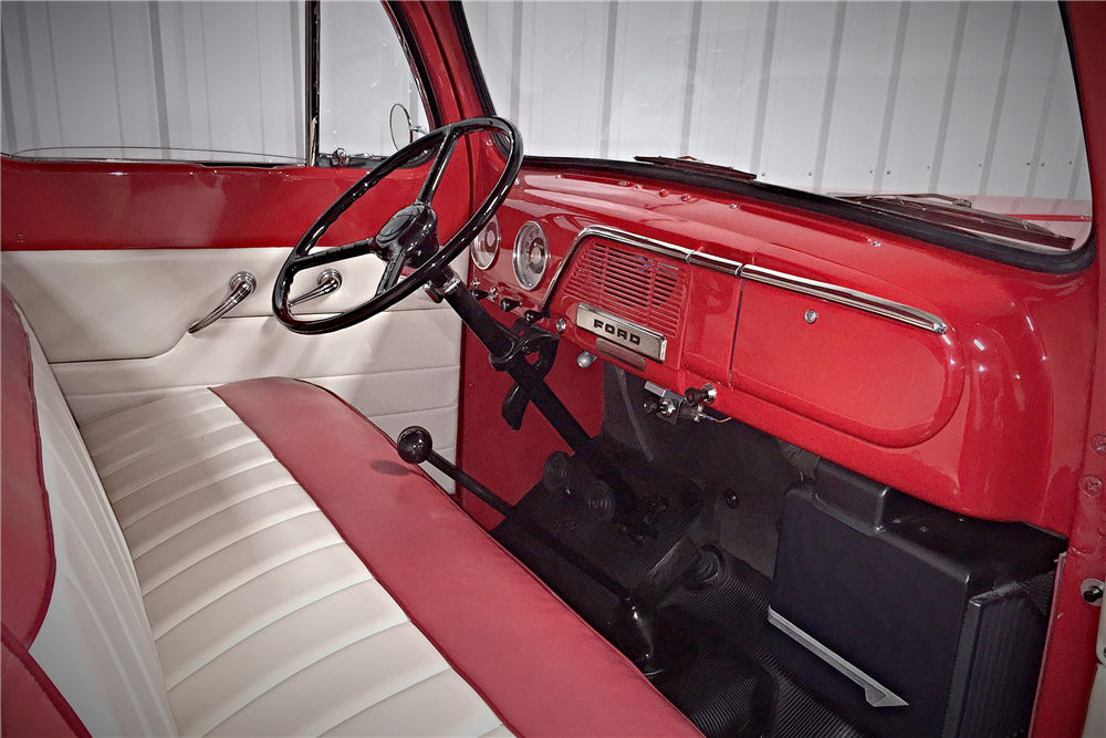 1951 FORD F-1 PICKUP - Interior - 190460