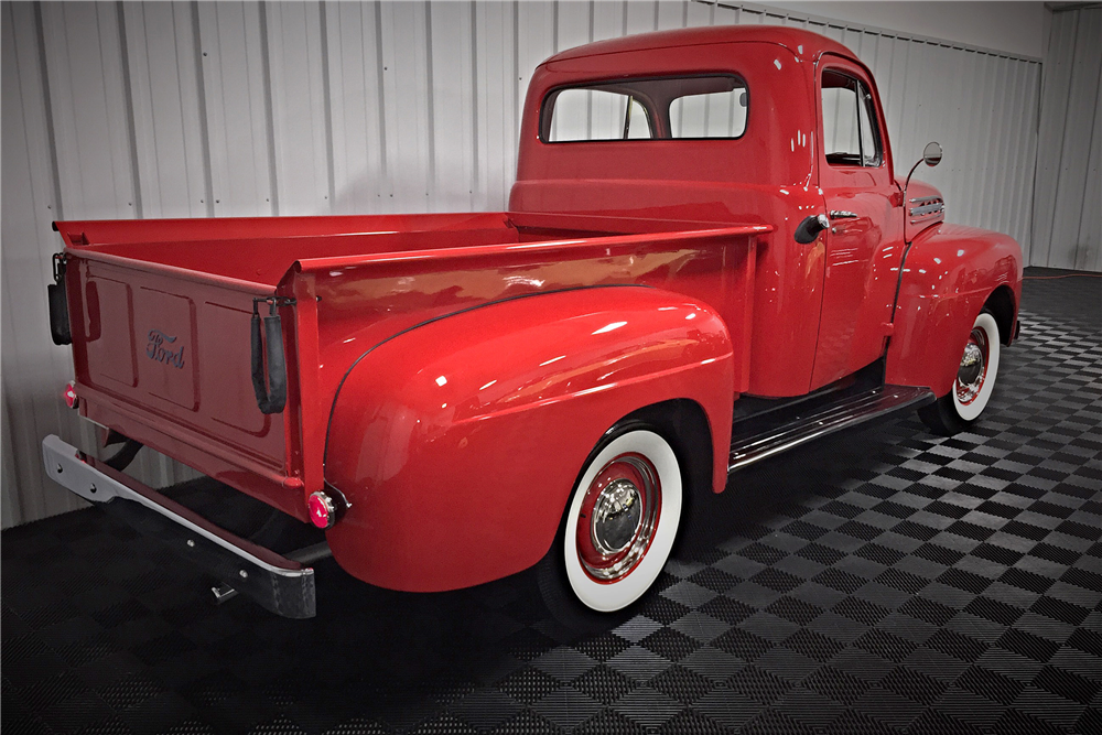 1951 FORD F-1 PICKUP - Rear 3/4 - 190460