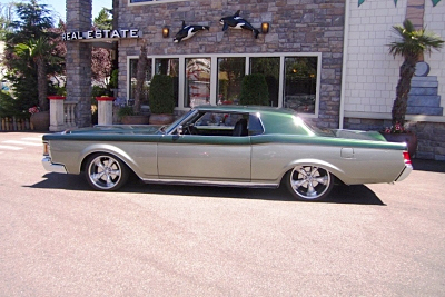 1971 LINCOLN CONTINENTAL CUSTOM HARDTOP - Side Profile - 190464