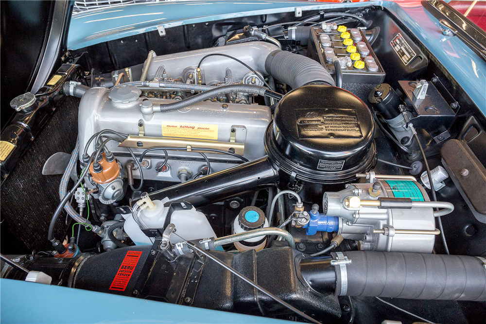 1962 MERCEDES-BENZ 190SL CONVERTIBLE - Engine - 190466