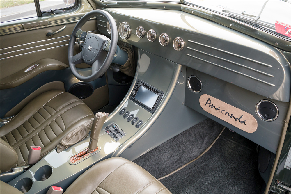 1941 PLYMOUTH CUSTOM SEDAN - Interior - 190468