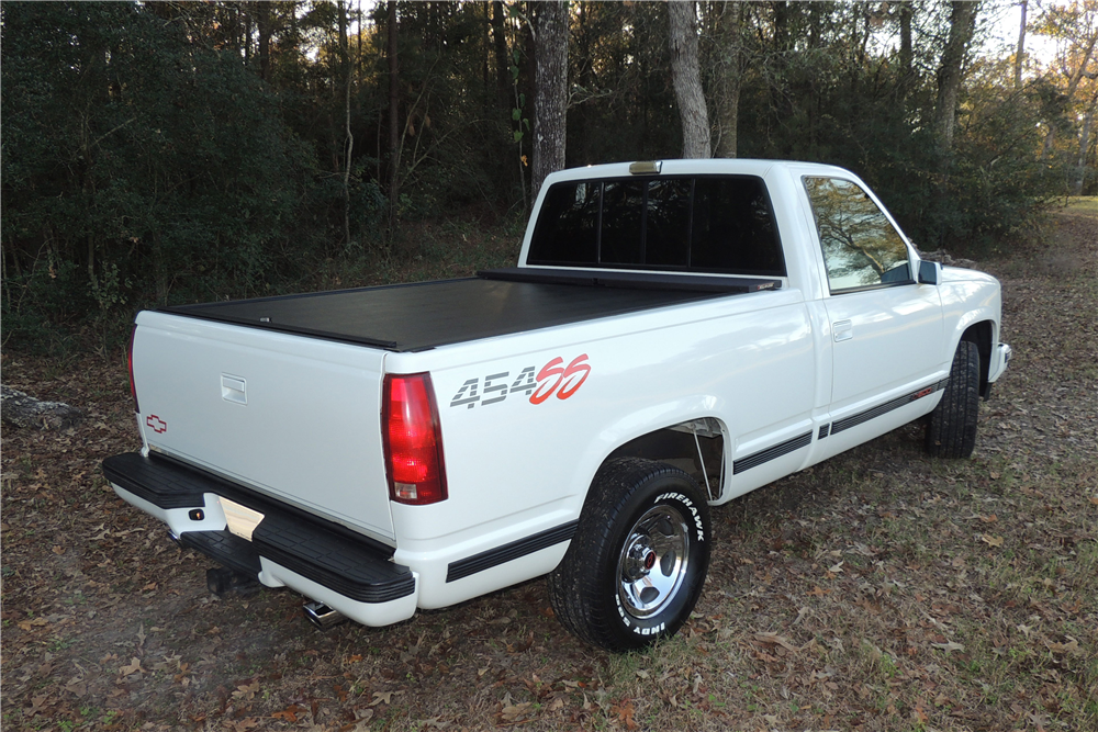 1993 CHEVROLET 454SS PICKUP - Rear 3/4 - 190470