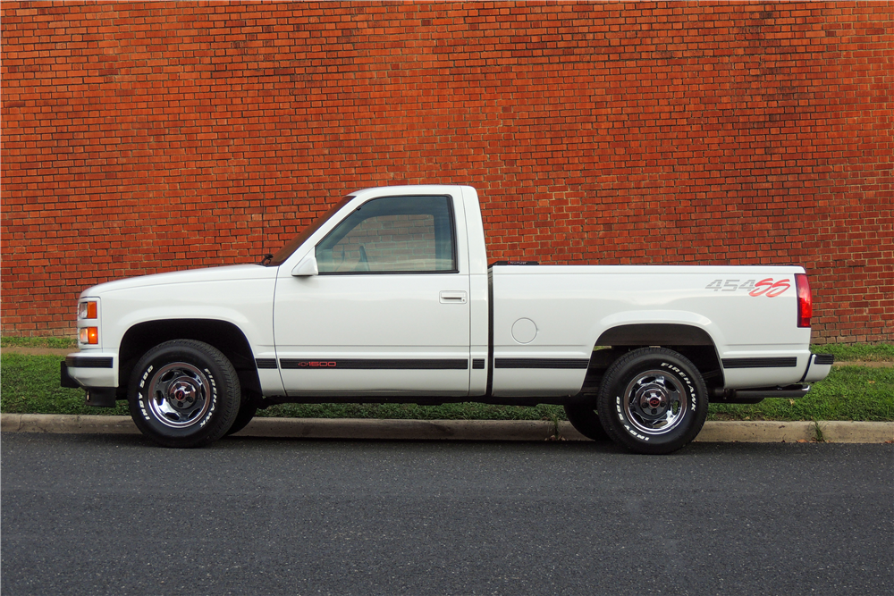 1993 CHEVROLET 454SS PICKUP - Side Profile - 190470