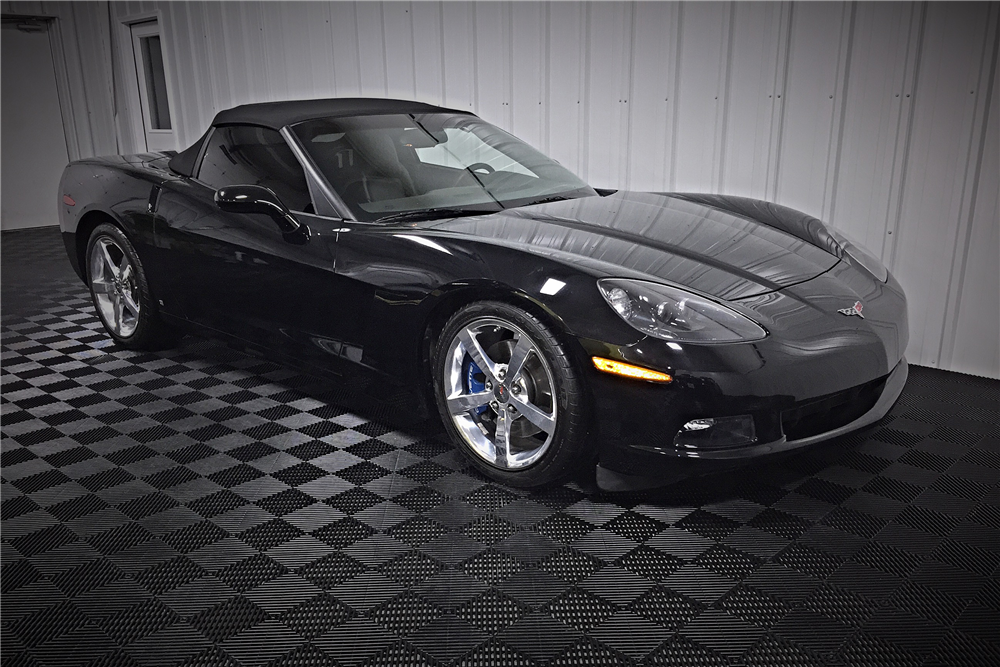 2009 CHEVROLET CORVETTE CONVERTIBLE - Front 3/4 - 190482