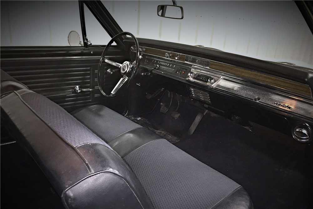1967 CHEVROLET MALIBU SPORT COUPE - Interior - 190483