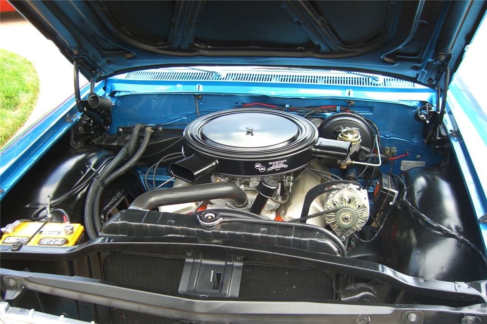 1962 CHEVROLET IMPALA SS 409 CONVERTIBLE - Engine - 190512